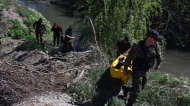 Se realizaron varios rastrillajes en un curso de agua cercano (fuente Río Negro)