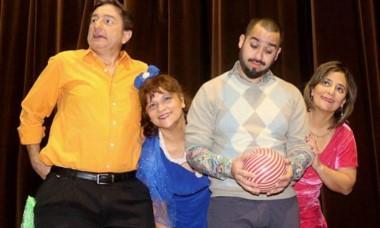 Los protagonistas de la exitosa comedia teatral.