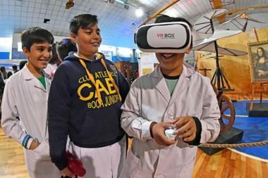 Miles de alumnos de escuelas primarias y secundarias además de familias de todo el Valle ya disfrutaron de las variadas propuestas que se ofrecen.