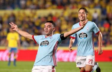 Hat-trick de Iago Aspas en la goleada del equipo vasco en Canarias.