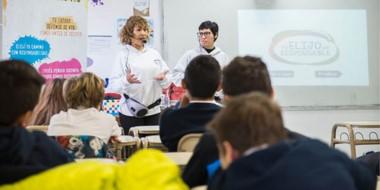 Entre agosto y septiembre se llevaron adelante más de 81 talleres en 8 escuelas.
