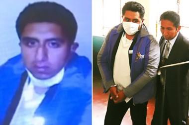 Grover Macuchapi de 27 años, el enfermero que fue atrapado por un hombre cuando este estaba abusando de su mujer muerta.