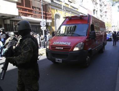 Fuerte operativo de seguridad al arribo del cuerpo hallado en Chubut.
