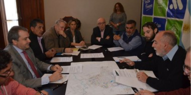 Las autoridades de la Cooperativa Eléctrica se reunieron con los concejales y autoridades municipales.