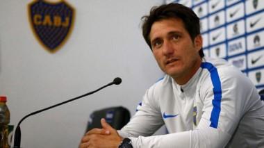 """Guillermo Barros Schelotto: """"Gago es irreemplazable. A Barrios por ahora no lo cuento""""."""