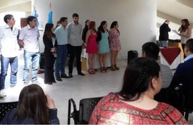 El acto de entrega de títulos tuvo lugar el pasado martes, en la sede Esquel de la Universidad del Chubut.