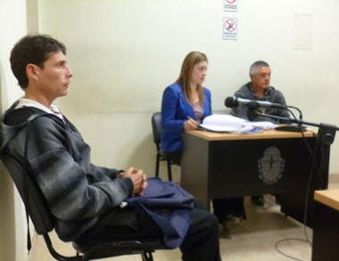Fabián Ayenao ofreció una reparación económica que se le rechazó.