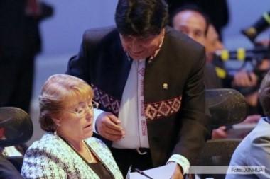 Imagen de archivo de ambos mandatarios durante la III reunión de la Celac celebrada en Puerto Rico.