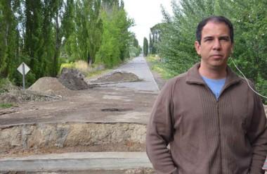 Marcelo Montserrat, secretario de Obras Públicas.