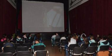 El ciclo  de cine organizado por la Coordinación de Cultura estuvo destinado a alumnos de sexto grado.