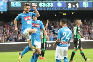 El Napoli suma 31 puntos de los primeros 33 en disputa en esta Serie A.