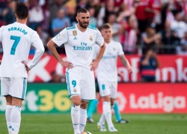 Sorpresa en la Liga de España: Girona superó al poderoso Real Madrid en el estadio Municipal de Montilivi.