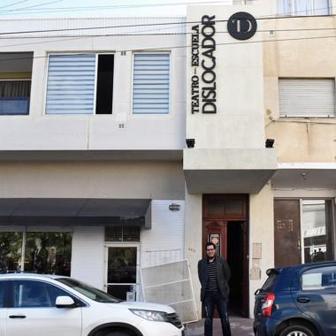 "Ramiro Aibar, creador de ""El Dislocador"" en Comodoro Rivadavia."