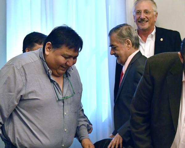 "Jorge ""Loma"" Ávila participó de la reunión"