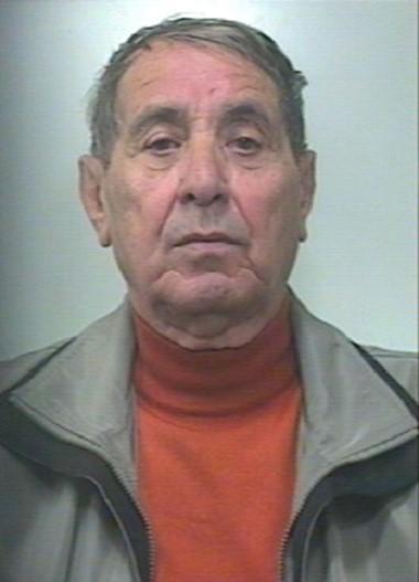 El líder mafioso de Sicilia Pino Scaduto fue arrestado anoche.