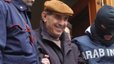 Sonriente. Pino Scaduto fue arrestado anoche luego de que la policía detectara llamadas donde el capo mafioso encargaba la muerte de su hija.