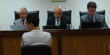 Los jueces Pérez, Criado y Novarino sentenciaron que Erwin Jaramillo deberá pasar 10 años encarcelado.