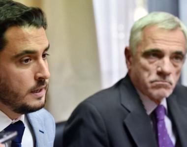 Dúo. Martínez Zapata (izquierda) y Vivas explicaron el objetivo de que el fuero civil se modernice en 2018.