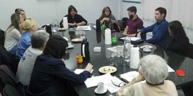 Los miembros del comité interdisciplinario analizaron los ejes de la campaña.