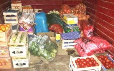 El decomiso alcanzó una tonelada de mercadería (foto Senasa)