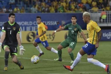 Brasil no pudo vencer al débil conjunto boliviano en la altura.