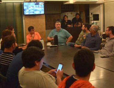 Cumbre. González, Fueyo y un debate peronista sobre lo que viene.