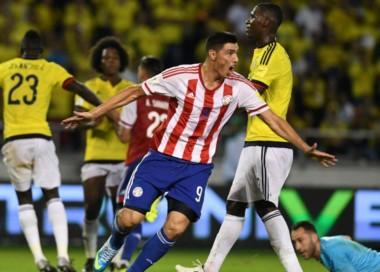 Colombia estaba en Rusia 2018 y Paraguay se lo dio vuelta en 4 minutos.