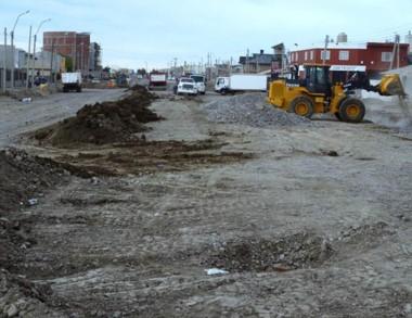 Son numerosas las obras que se están realizando en la ciudad.