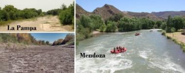 Un claro reflejo del efecto que causa en el río la desviación de sus aguas.