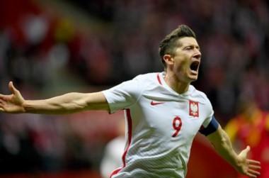 Polonia vuelve a un Mundial 12 años después. Robert Lewandowski marcó un gol.