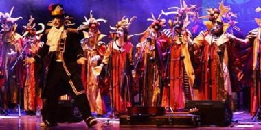 """Diversión. """"La máquina de hacer chorizos"""", uno de los grupos artísticos que estará en Dolavon."""