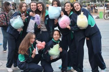 La delegación de Chubut llegó a Mar del Plata para competir desde hoy de la Instancia Nacional de los Evita.