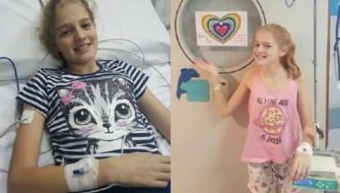 Al enterarse de que debía ser trasplantada, Justina le pidió a sus padres que comiencen una campaña para que se tome conciencia de la importancia de donar órganos.