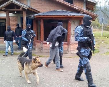 El sujeto detenido es un chileno de 57 años, líder de la banda delictiva.