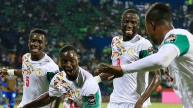Senegal venció a Sudáfrica y clasificó a Rusia 2018.