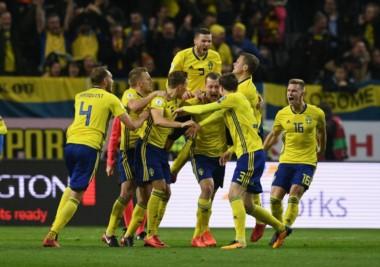 Suecia se impuso de local ante Italia por 1 a 0. El lunes juegan la vuelta.