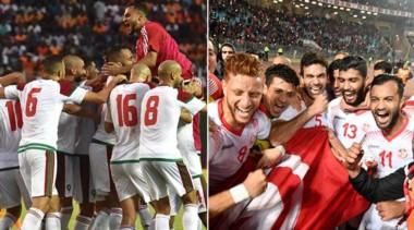 Túnez y Marruecos lograron la clasificación al Mundial de Rusia 2018.