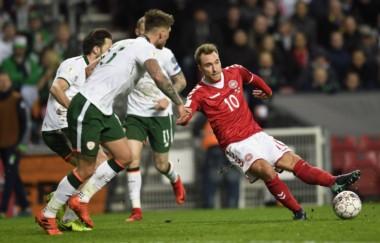 Dinamarca no pudo sacar ventaja como local en la ida.