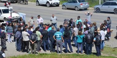 La CGT salió en apoyo del SOEME, que se mantiene en conflicto con el municipio.