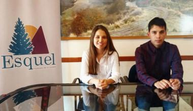 Camila Gullino y Bruno Peláez brindaron detalles d elas actividades.