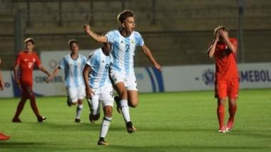 La Argentina Sub 15 empató con Chile y llega exigida a la última fecha.
