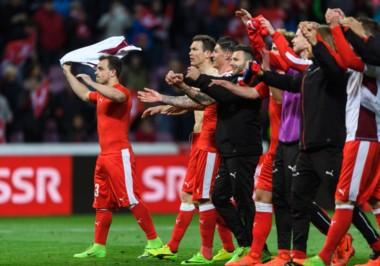 Con el 1-0 de la ida, Suiza clasificó al Mundial.