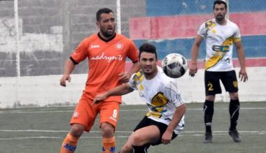 Diego Giménez en acción. Moreno sumó los tres puntos y está segundo.