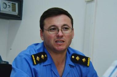 Comisario mayor César Brandt.