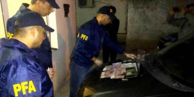 Droga. El trabajo de la Policía Federal permitió el secuestro de una importante cantidad de estupefacientes.
