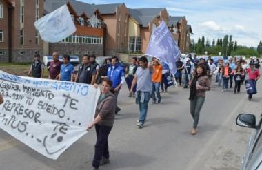 Banderas. Los trabajadores afiliados a varios gremios se unieron para fijar postura a favor del SOEME.