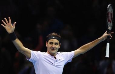 Federer llegó a 14 semifinales en el Masters final, siendo récord histórico, sobre 15 participaciones. Y logró por 14ta vez superar los 50 triunfos en un solo año.