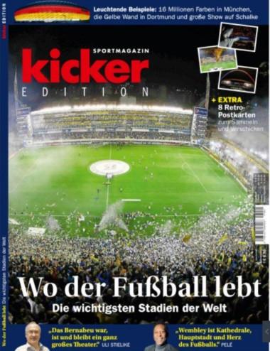 La Bombonera es el mejor estadio del mundo para la revista Kicker bdcbdd2936503