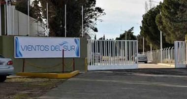 Bloqueo. Los portones de la empresa que actualmente están cortados debido a un conflicto gremial.