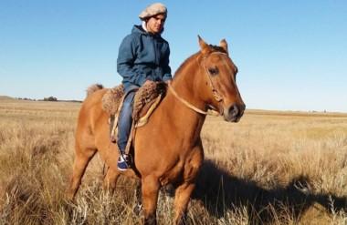 Al galope suave. Alejandro Leiva (17) era un apasionado. Amaba a los caballos y era un destacado domador.